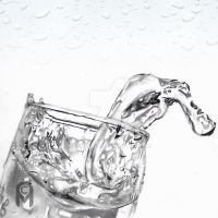 Water Motion Drawing by CoralinLi