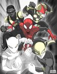 1Ultimate Spider-Man and Friends by LucianoVecchio