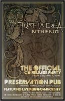 Tuatha Dea Cd Release poster by BANE-OF-MY-EXISTENCE