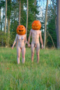 the pumpkin lovers by photographydomine