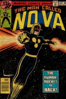 NOVA retro comic style by ArtNomad