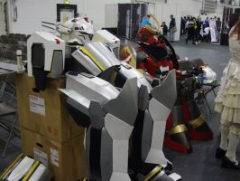 Giant Mecha Costumes by lunamaxwell