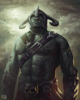 Epic Orc by Rob-Joseph