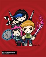 Scott Pilgrim Vs the World by eggay