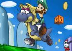 Super Luigi World by bittenhard