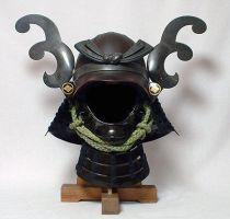 samurai helm 2 by knightfall-stock