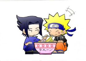 SasuNaru: Ramen Love by Blue-Feather-BF