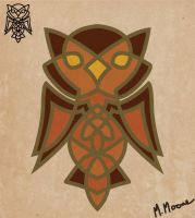 Knotted Owl by Moemoore