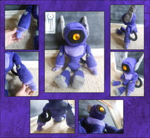 TF - G1 Shockwave plushie by Acrosanti