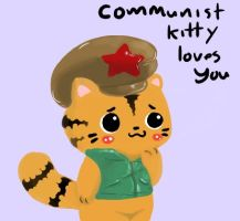 Communist Kitty Loves all by KentoDaCat