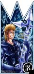Demyx - the Melodious Nocturne by moogle-O-d00mage