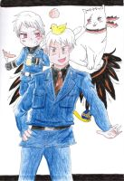 Prussia Traditional Colored by KellyGreeny