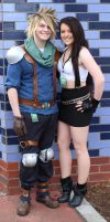 Cloud and Tifa by MFM-Photography