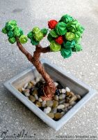 Origami Bonsai by yamixhikari