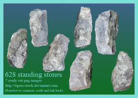 628 Standing Stones by Tigers-stock