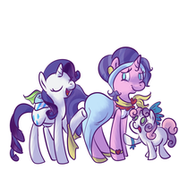 Dressing up Mother by PonyGoggles