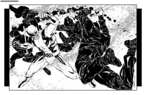 2007 Wolverine Vs Ninjas by BrandonPeterson