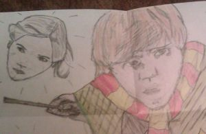Ron Loves Hermione by ceri1306