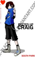 REZZED UP CRAIG. by x--blackrose--x