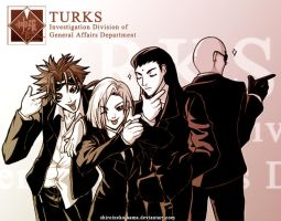 FF7: Turks by ShiroiNeko-sama