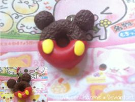 Polymer Clay Disney Mickey Mouse Donut Re-ment by UnicornCharms