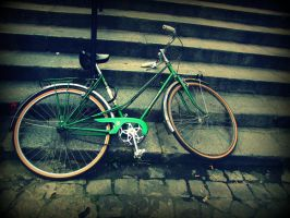 Paris bycicle by kabre