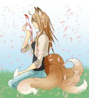 Fox behind the mask [Kitsune!Fem!America] by TeaAndCoffee-Blend