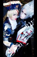 Trinity Blood: Astharoshe and Abel by chibinis-chan