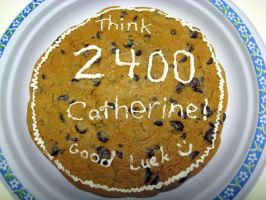 SAT Cookie Cake by dancingpiggy48