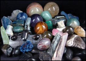 My Stone Collection - Part 3 by andromeda
