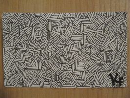Notecard + pen + time! by theartisticnerd