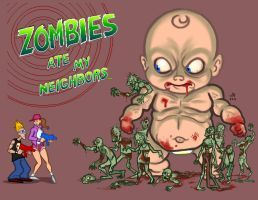 Zombies Ate My Neighbors by UberWang