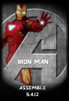 Avengers Standee: Iron Man by Marvel-Freshman