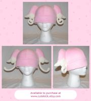 Audino Tabunne Pokemon Hat V2 by cutekick