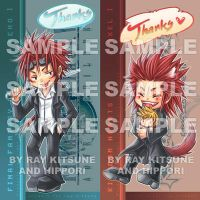 Bookmark: Reno and Axel by raykit