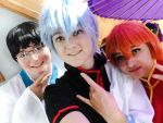 Gintama Trio - Selfie by Kkmkingdom
