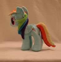 Rainbow Dash Plushie by Yukizeal