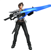Final Fantasy VIII - Squall Le by sliscin