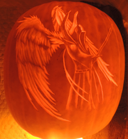 Winged Reaper Pumpkin by MrSultan531