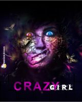 model face - crazy girl by mnoso90