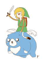 Link and Moosh by keenann