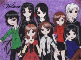 A Volturi Family Portrait by x-writer-angel-x