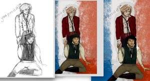 WIP Enjolras/Grantaire Death -Updated- by UltimeFauchelevent