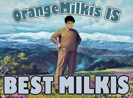 OrangeMilkis is BEST MILKIS by Mequals