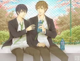 Free! Break Time by miimiiakatsuki