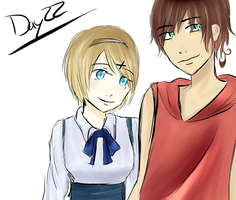 Hetalia 30 day challenge day 22 by Mizzy5897
