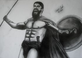Leonidas Charcoal (Reloaded) by Sakrates