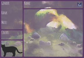 MoonClan Ref Sheet by PatchyFallenstar