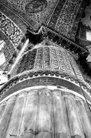 Pillar Of Islam. Monochrome. by johnwaymont