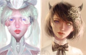 Girl Portraits by visaga